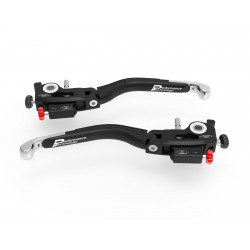 L01 ULTIMATE - BRAKE + CLUTH LEVERS DOUBLE ADJUSTMENT SILVER