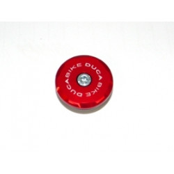 TRD04 - RIGHT FRONT WHEEL CAP  RED