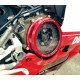 CC119901 - CLEAR CLUTCH COVER PANIGALE RED